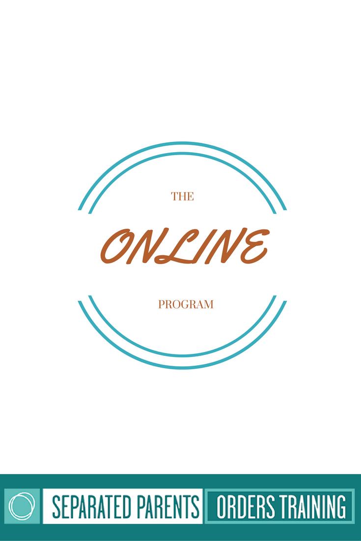 Separated Parents Orders Training Program – Online Program
